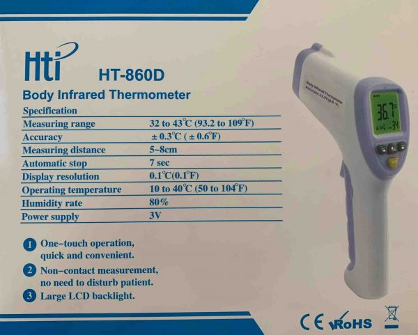 Hti HT-860D Body Infrared Thermometer
